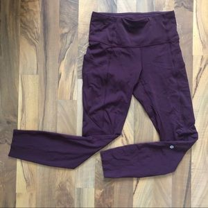 Lululemon fast and free cassis 25 inches